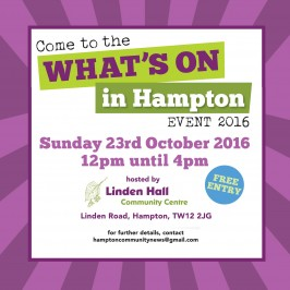 'What's on in Hampton' event