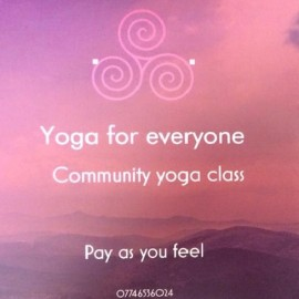 New – Community Yoga classes